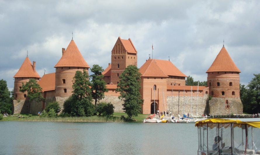 El Castillo de Trakai (Lituania) en imágenes