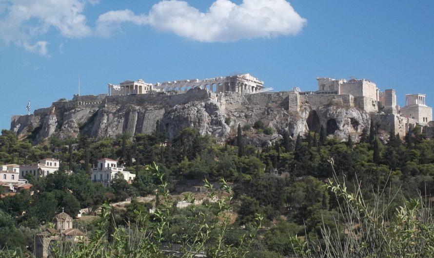 Atenas (Grecia): Acrópolis, calor y pobreza