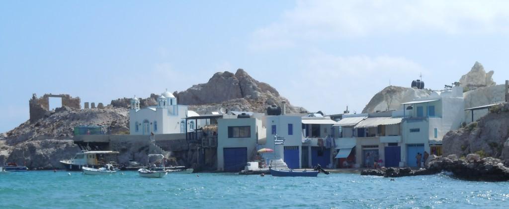 Firopotamos, una de las mejores playas de Milos