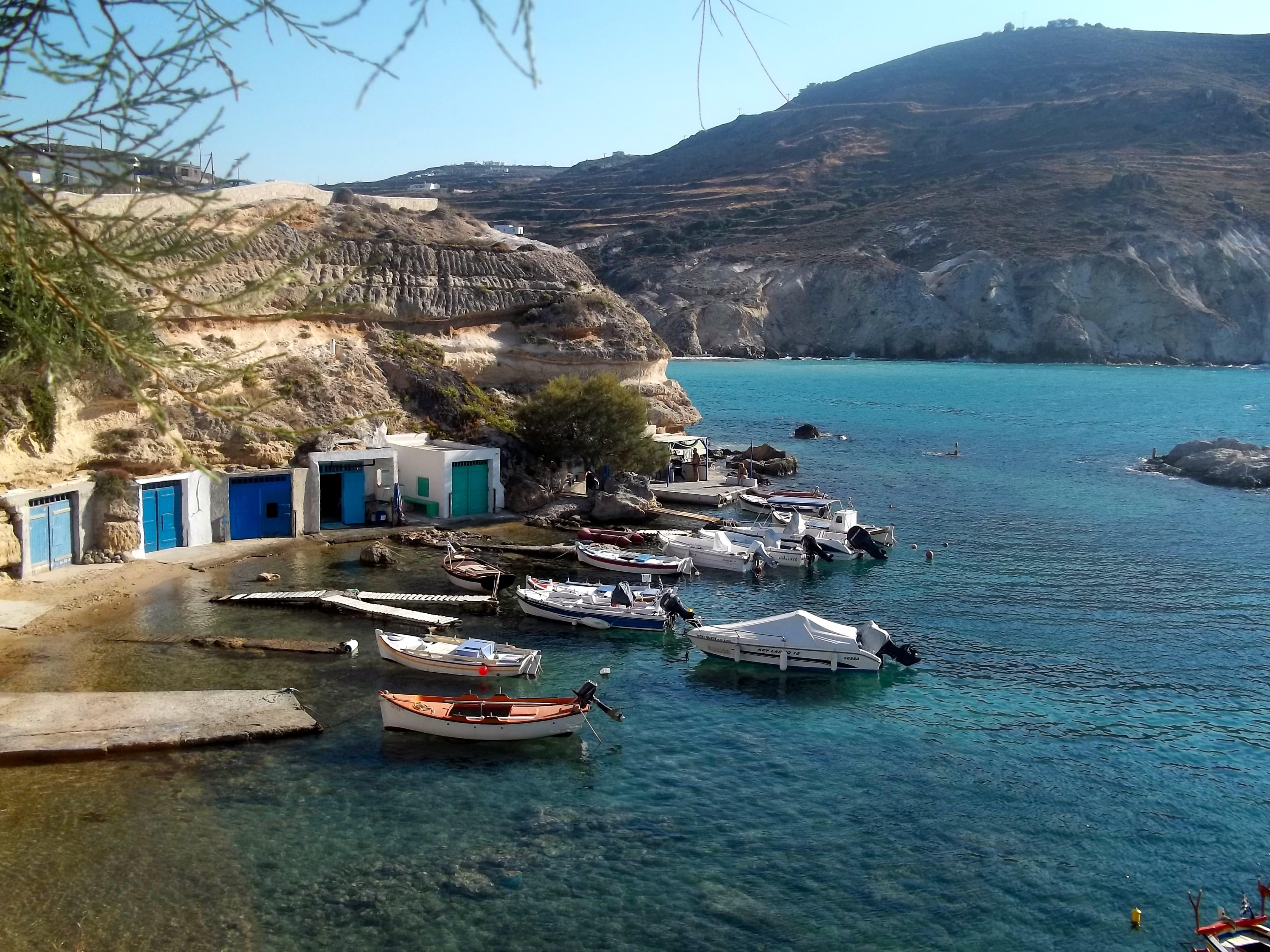 Qué ver en Milos (Grecia)