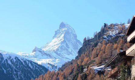 El Cervino desde Zermatt (Suiza)