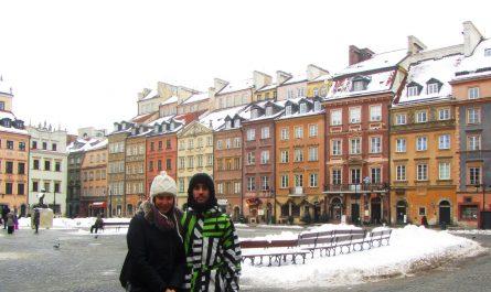 Centro de Varsovia (Polonia)