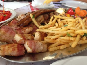 Comida serbia