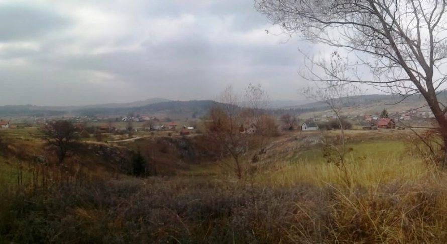 En una aldea típica de Montenegro: Obarde