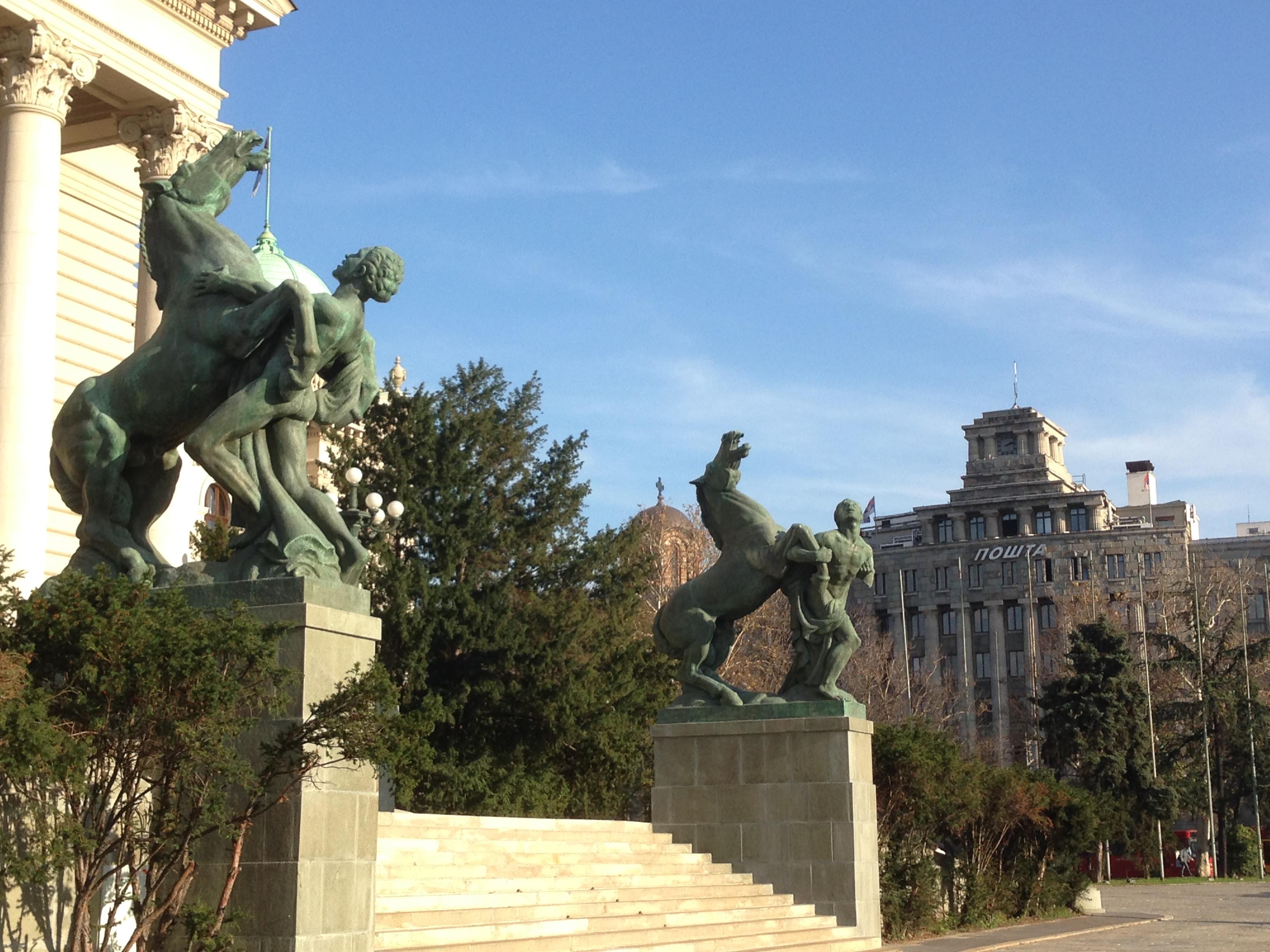 Callejeando por Belgrado, capital de Serbia, y, anteriormente capital de Yugoslavia