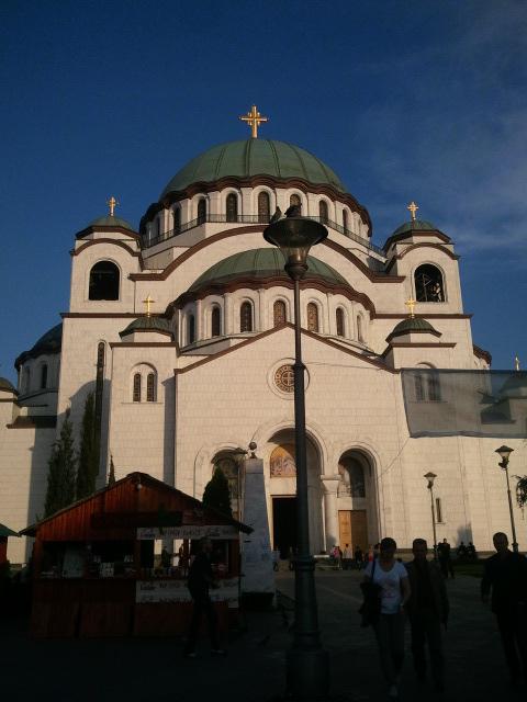 Iglesia Ortodoxa en Belgrado