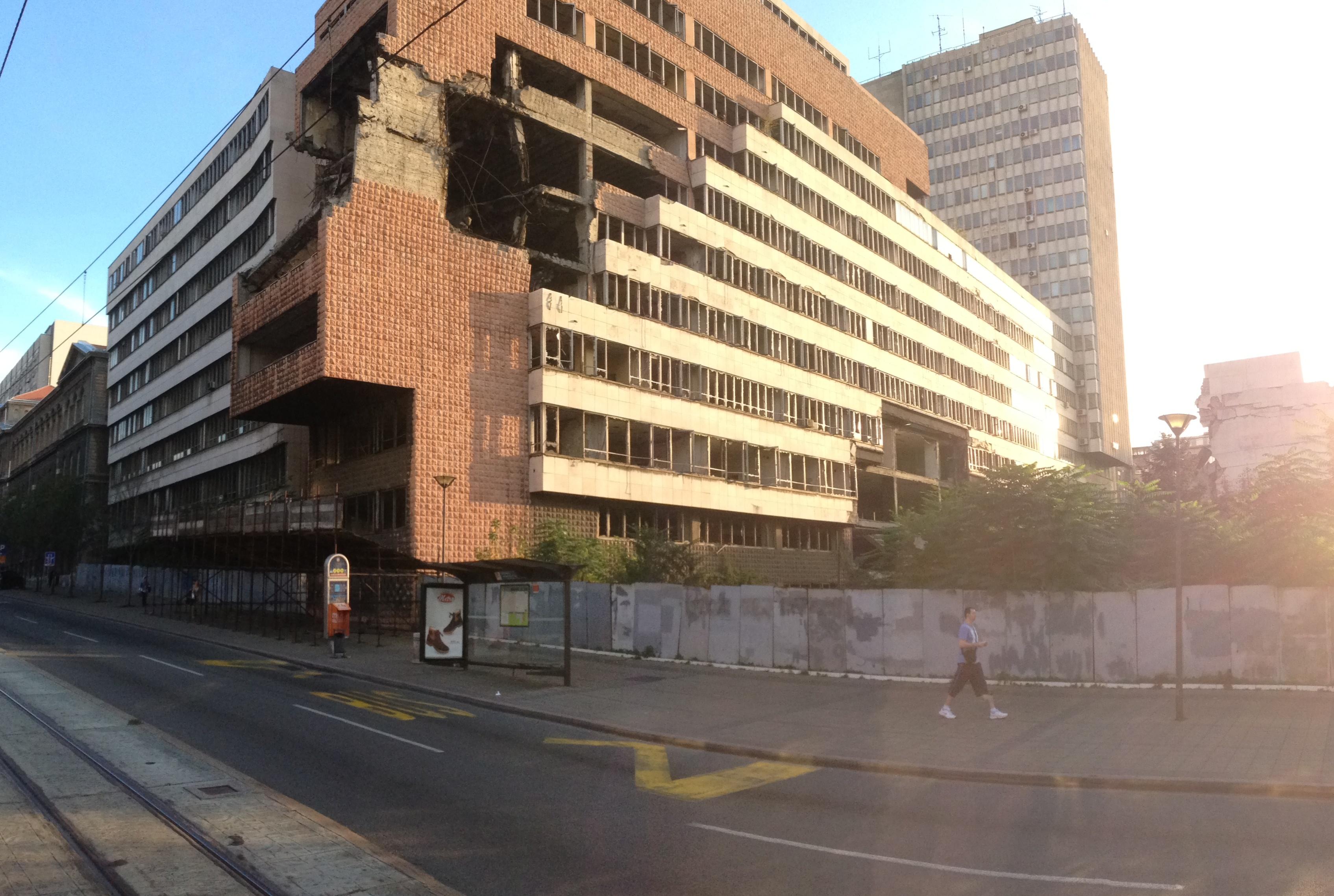 Secuelas del bombardeo de 1999 en Belgrado