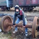 eje de tren