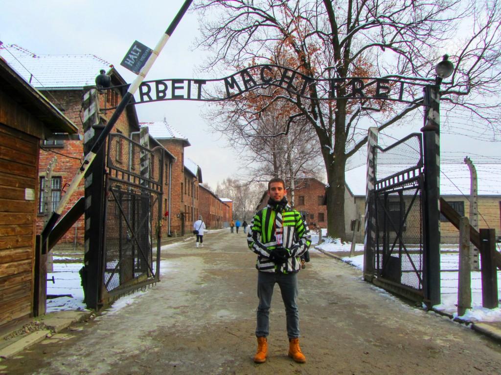 Entrada Auschwitz
