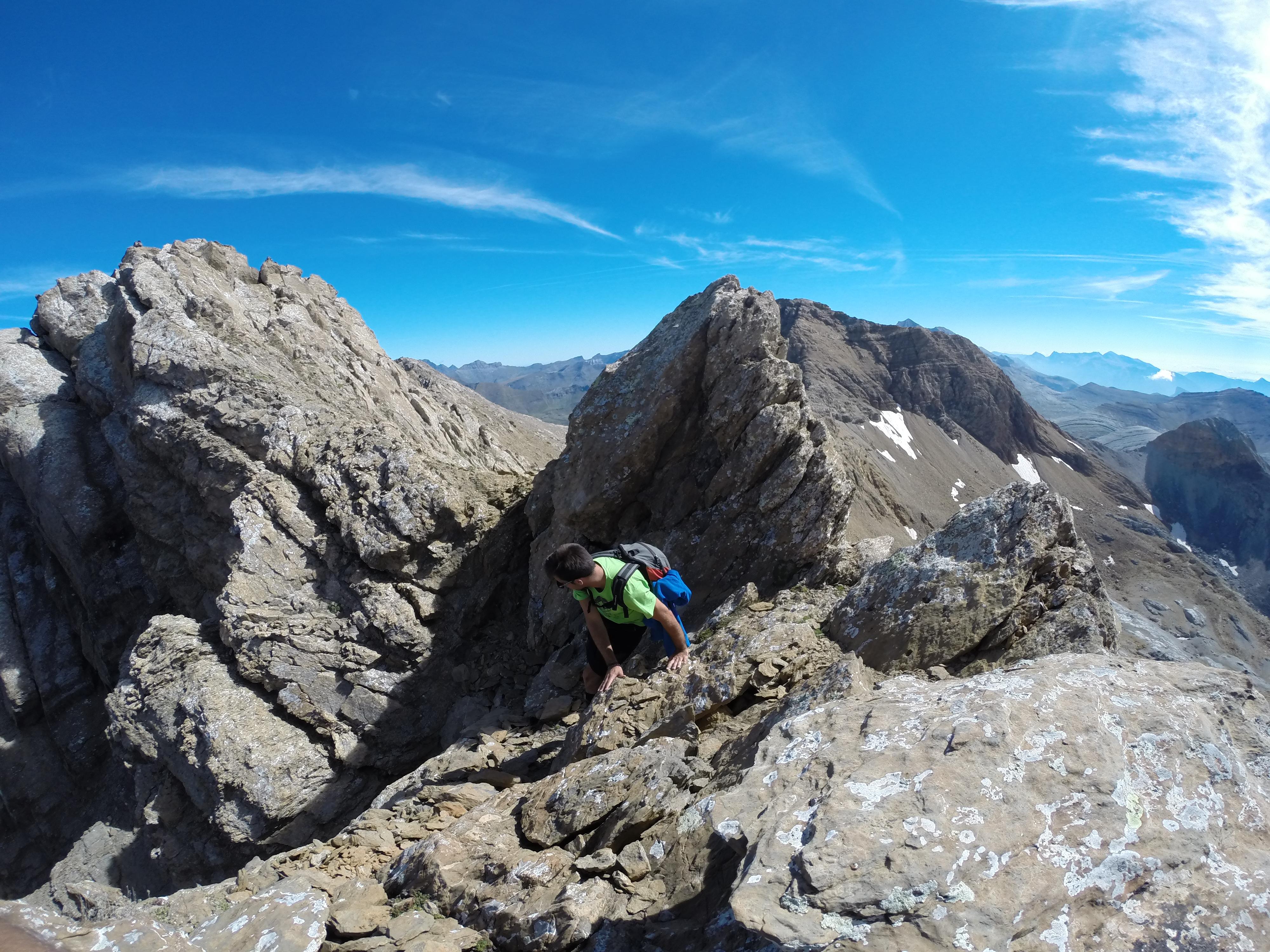 Llegando al Gabieto Occidental (3.035 metros)