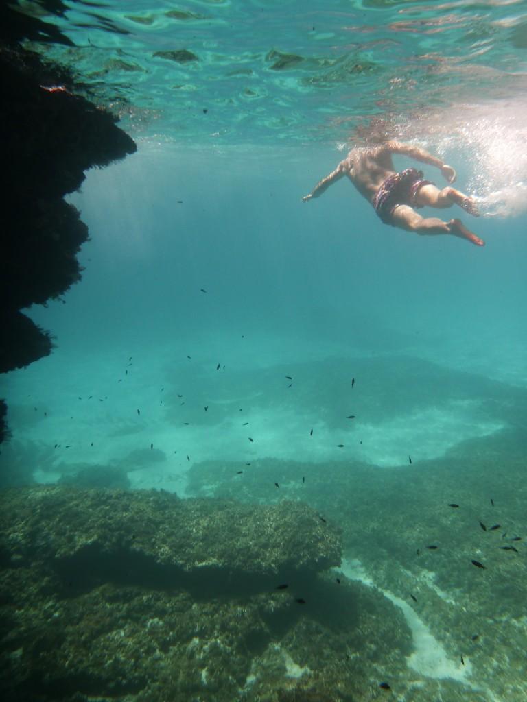 Buceo en Cala Varques (Mallorca)