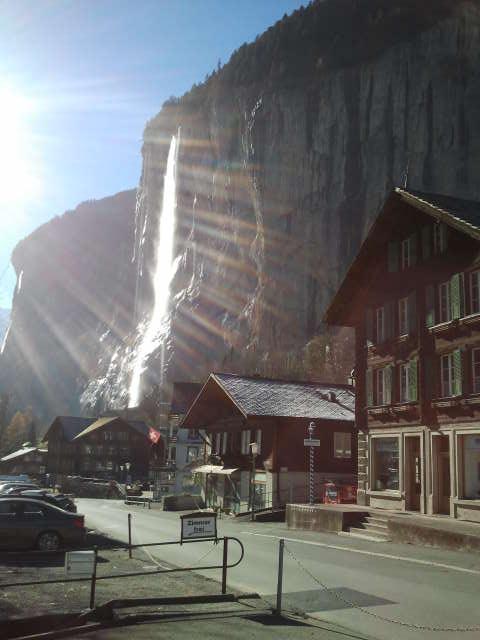 La cascada de Lauterbrunnen