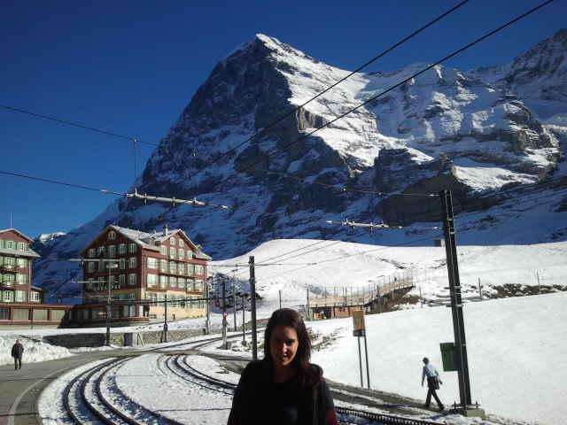 Vista del Eiger desde Kleine Scheidegg