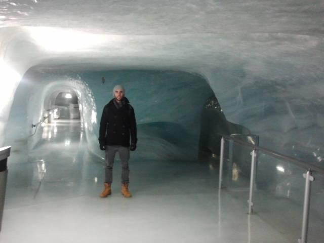Las galerías de hielo