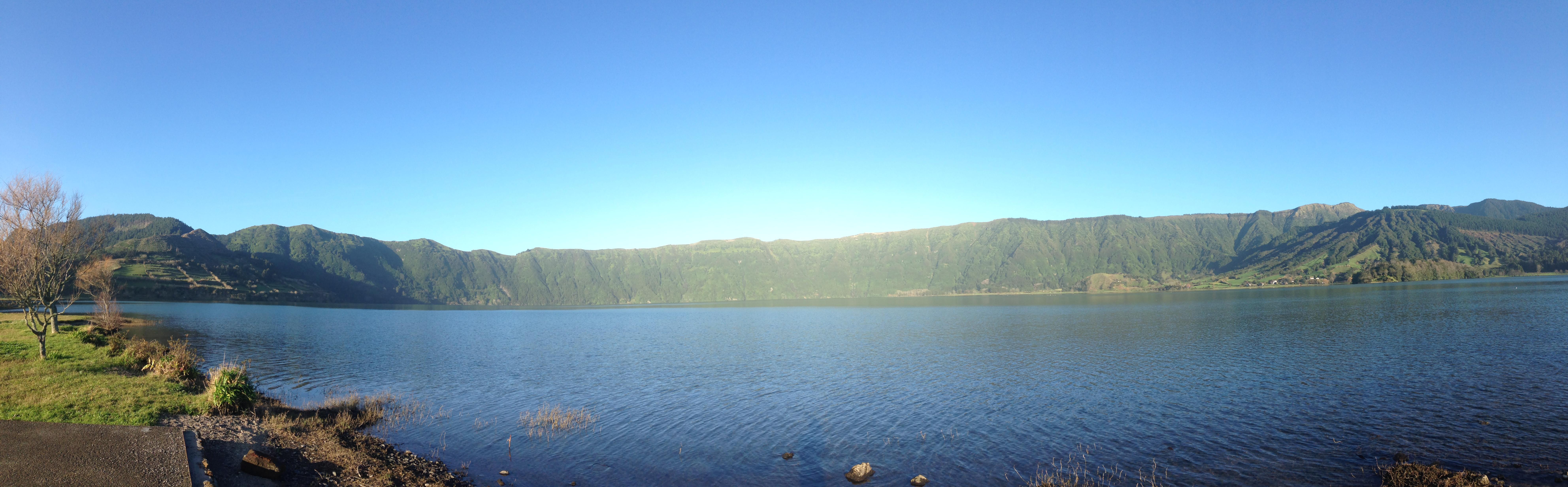 El lago desde Sete Cidades