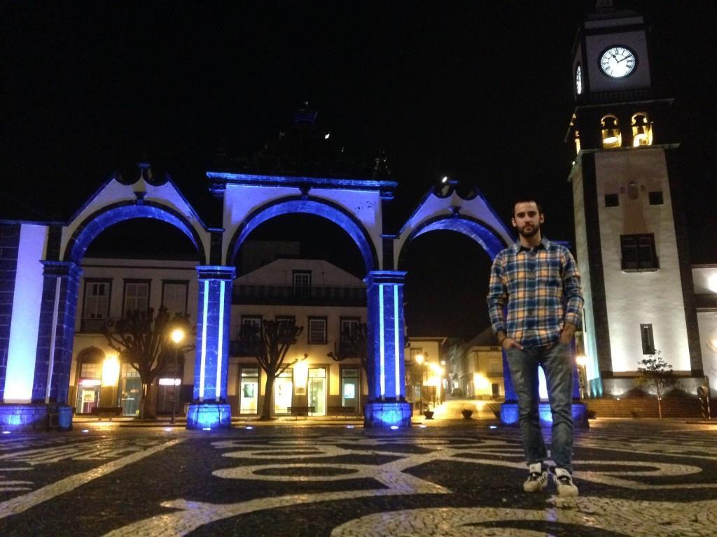 Portas da Cidade en Punta Delgada, la capital de São Miguel