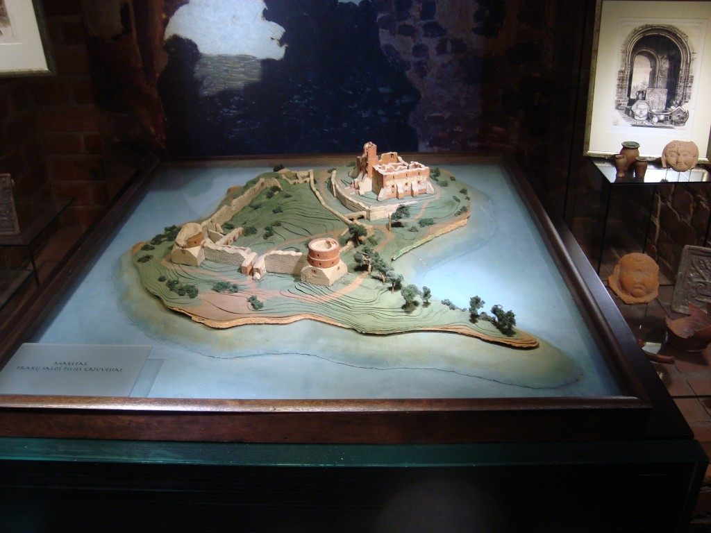Maqueta del Castillo de Trakai