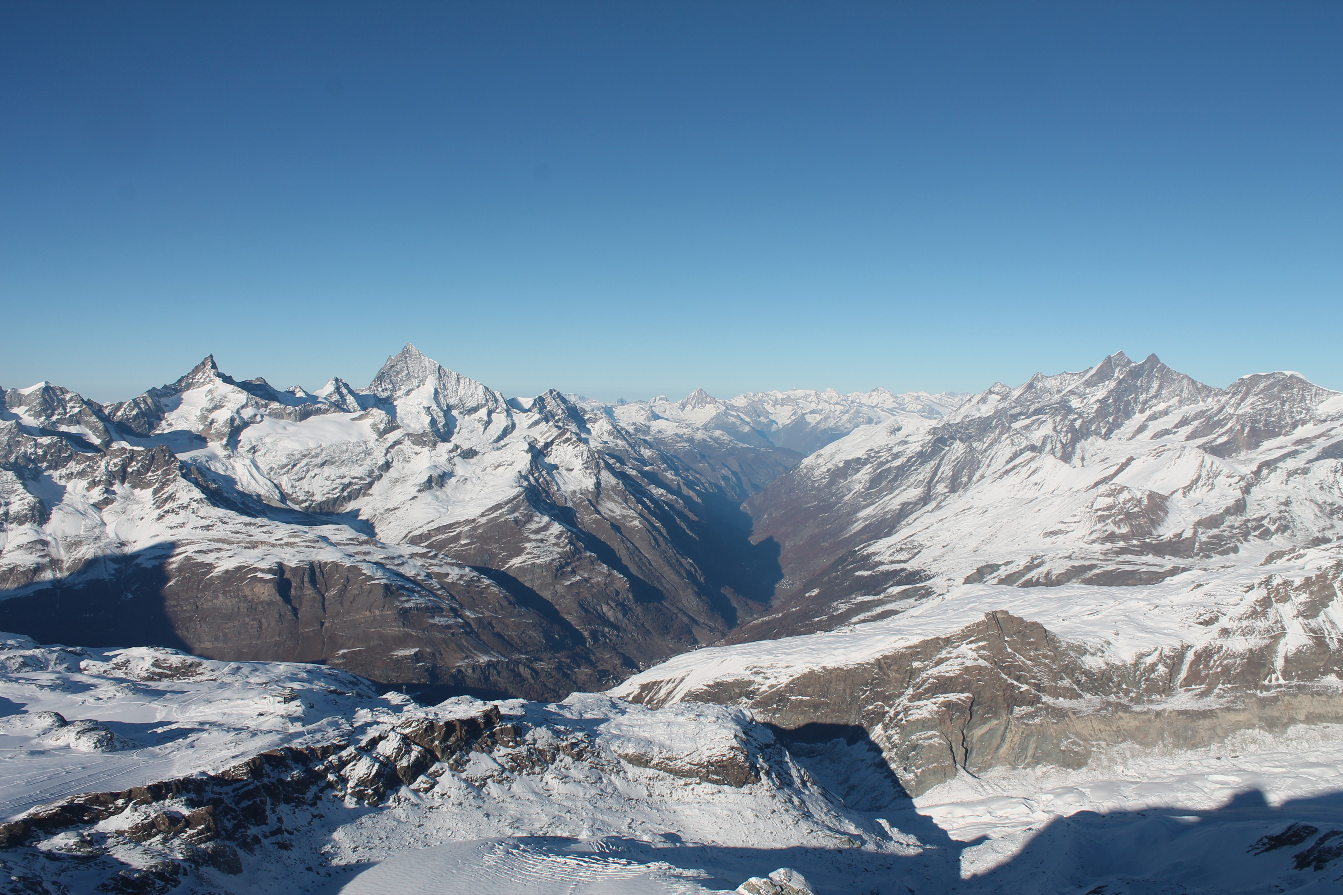 Valle del Cervino, donde se sitúa Zermatt