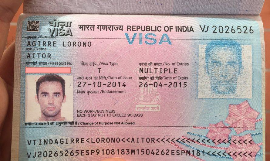 Cómo tramitar el visado para India