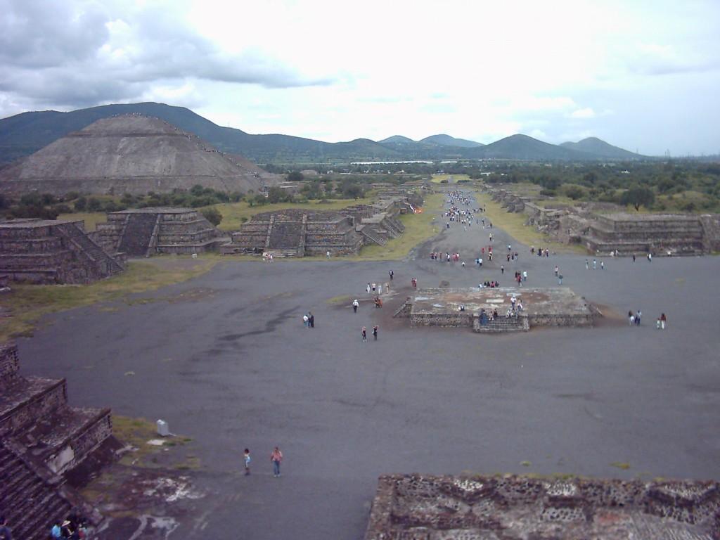 Plaza de la Luna en Teotihuacán