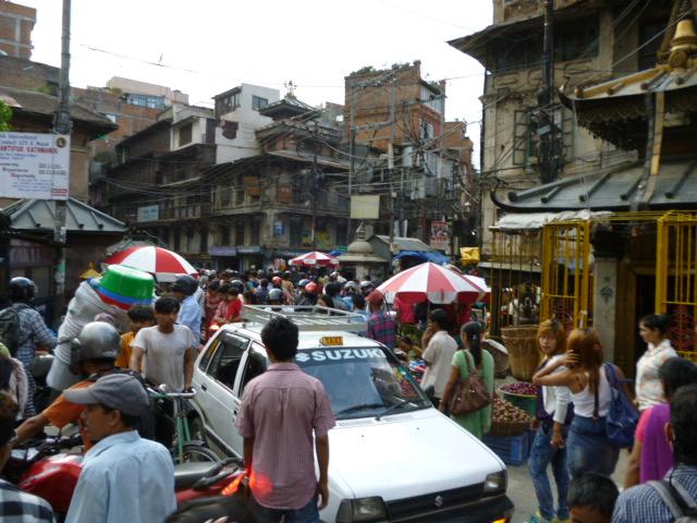 Thamel, el centro turístico de Katmandú (Nepal)