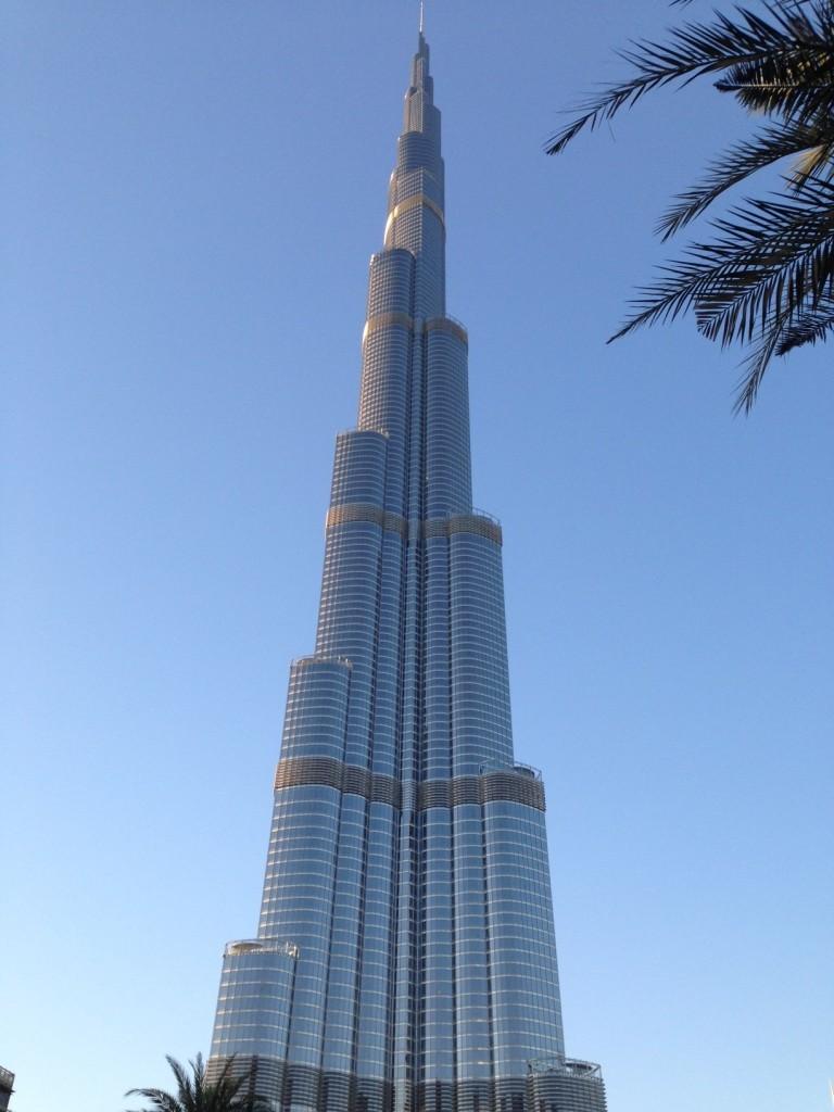 El Burj Khalifa, el edificio más alto del mundo. Sin duda, una de las mejores cosas que ver en Dubai