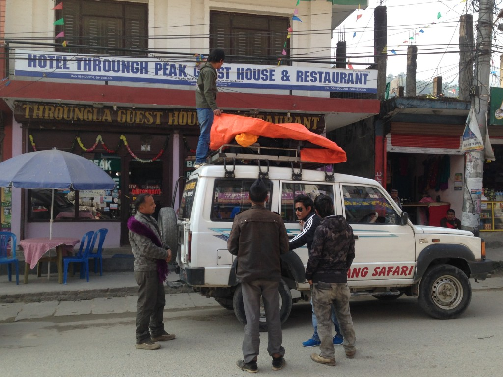 4x4 en Besisahar (Nepal)