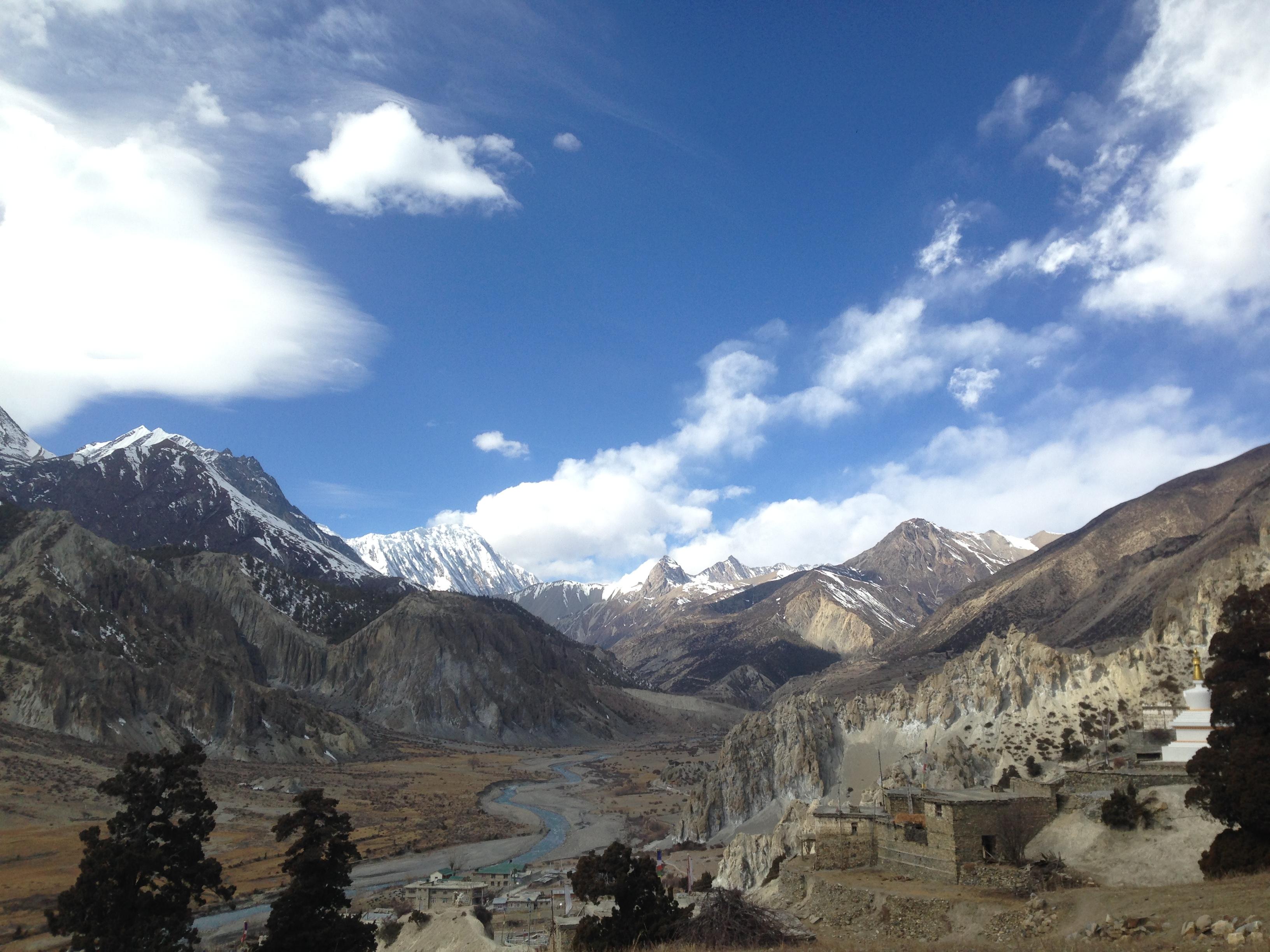 Circuito del Annapurna por etapas
