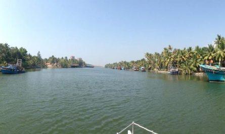 Backwaters de Kerala, India