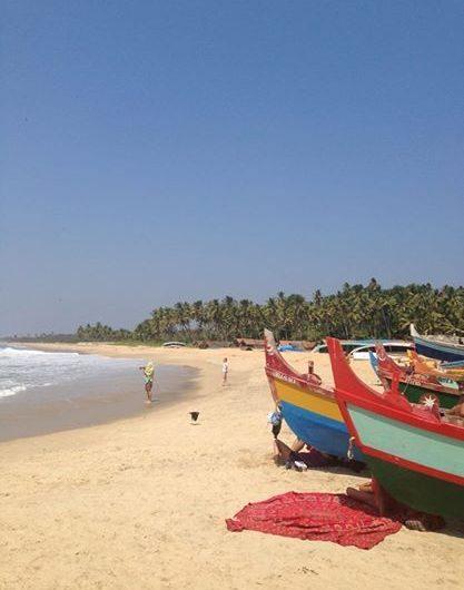 En Varkala (India) como en casa