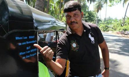 Vikram Rickshaw en Hampi (India)