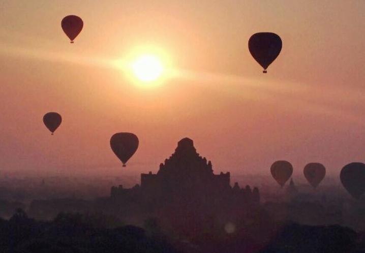 Bagan, la joya budista de Myanmar