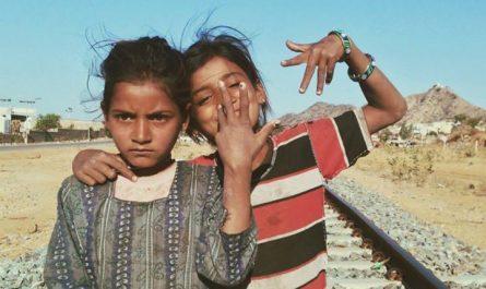 Niñas Gitanas en India