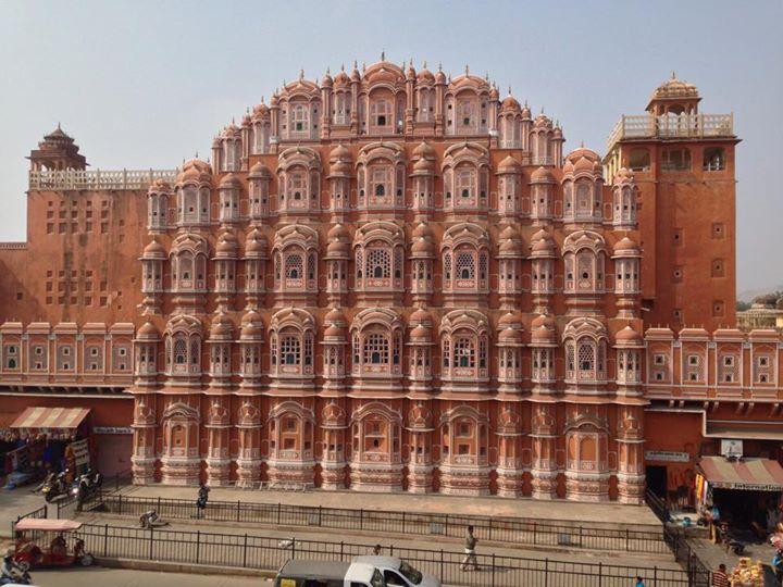 Jaipur, la ciudad rosa de India