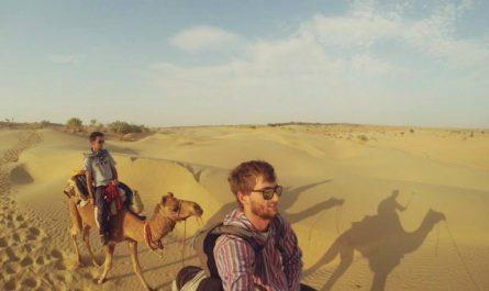 Safari en camello en Jaisalmer India