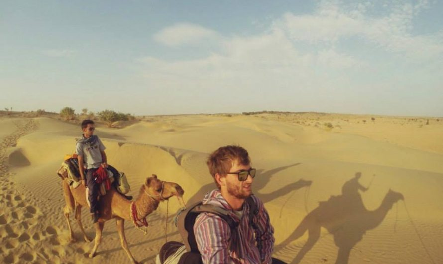 Dos días en camello por el desierto de Rajastan