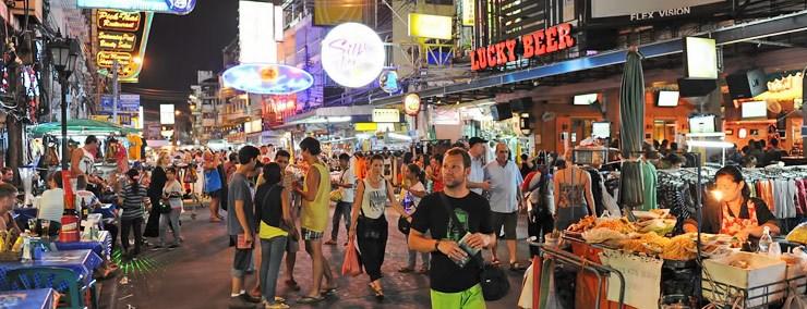 Bangkok, la ciudad mochilera por excelencia