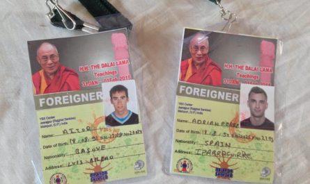 Seminario con el Dalai Lama en India