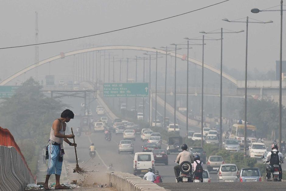 Autovía en New Delhi (Imagen de Prakash Singh)