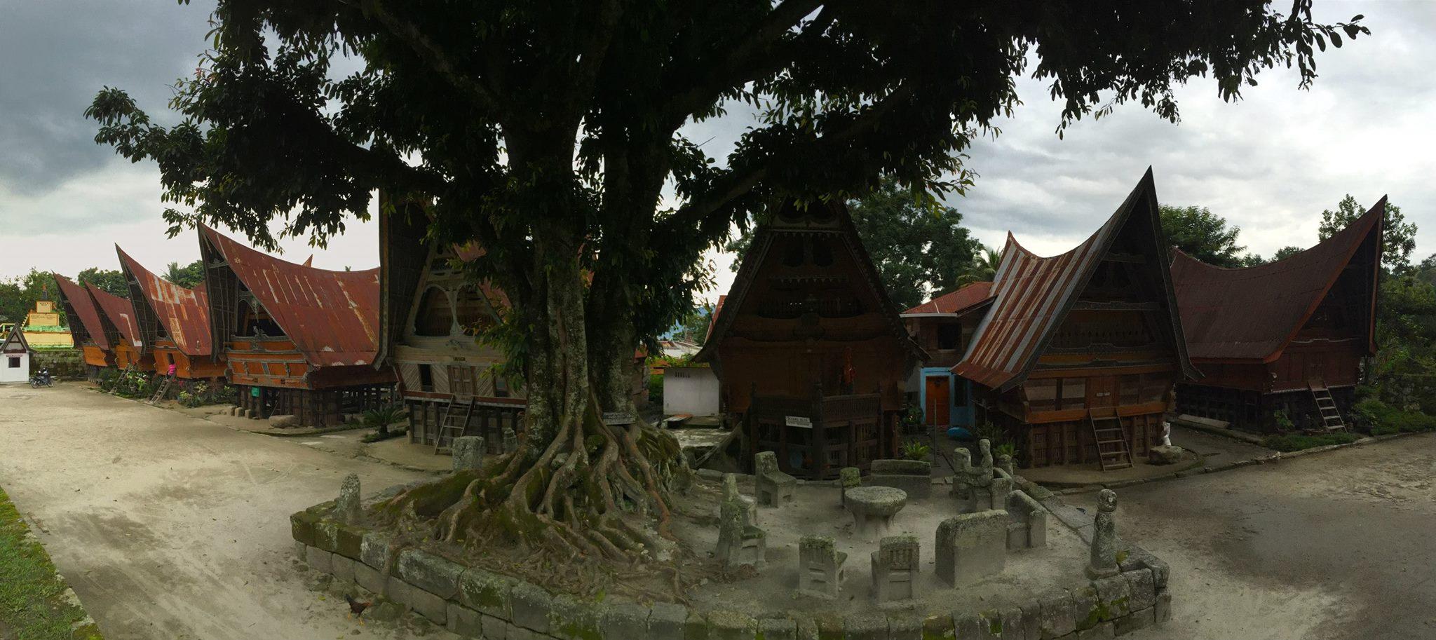 Batak House Lake Toba Indonesia