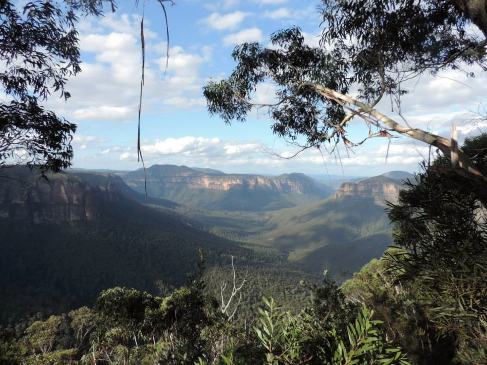 Lugares para visitar cerca de Sydney; Blue Mountains