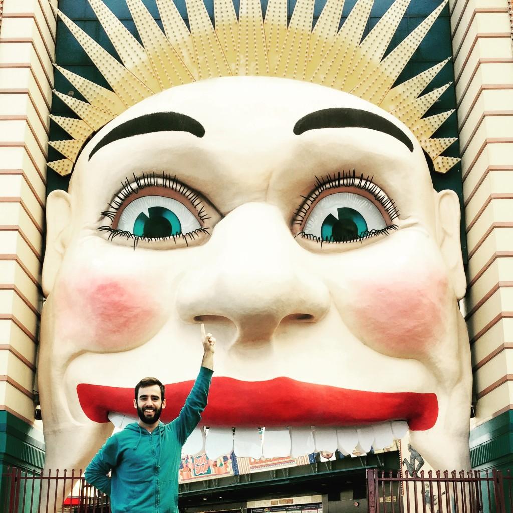 El parque de atracciones Luna House de Sydney (Australia). Una de las cosas que hacer en Sidney