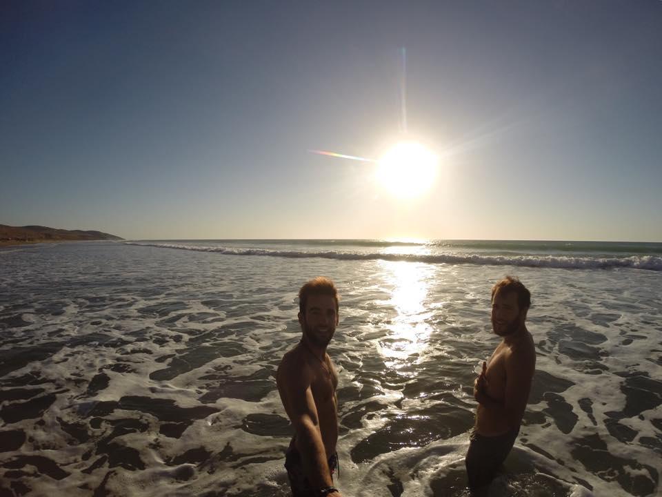 Atardecer Playa Assilah