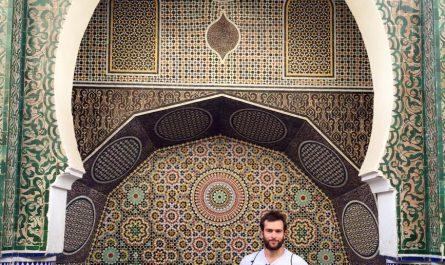 Fuente en Fez Marruecos