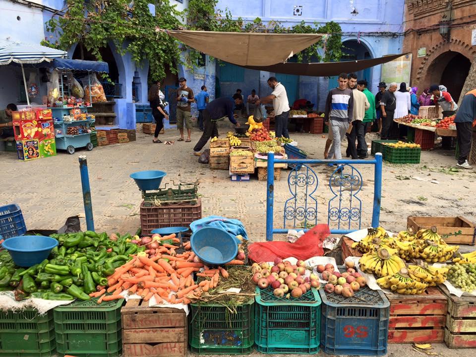 Mercado Chefchauen