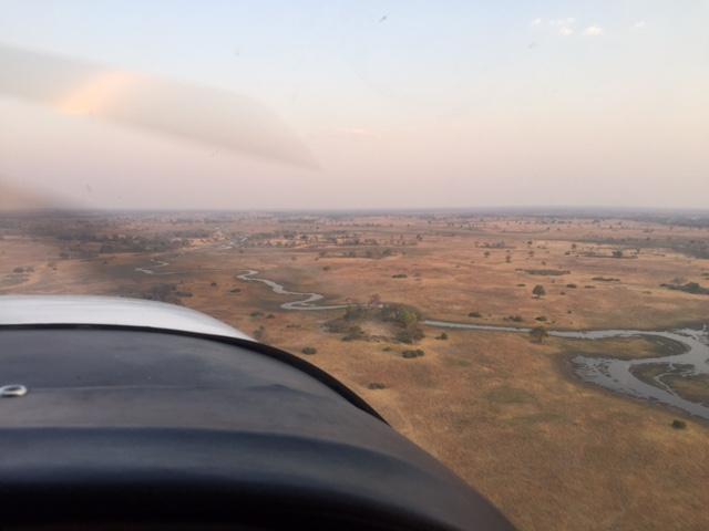 Avioneta Delta del Okavango