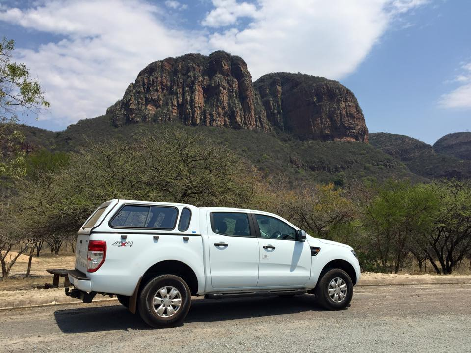 Ford Ranger Blyde Canyon