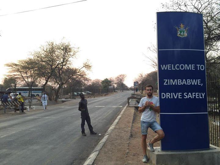 Frontera Zimbabue Zambia