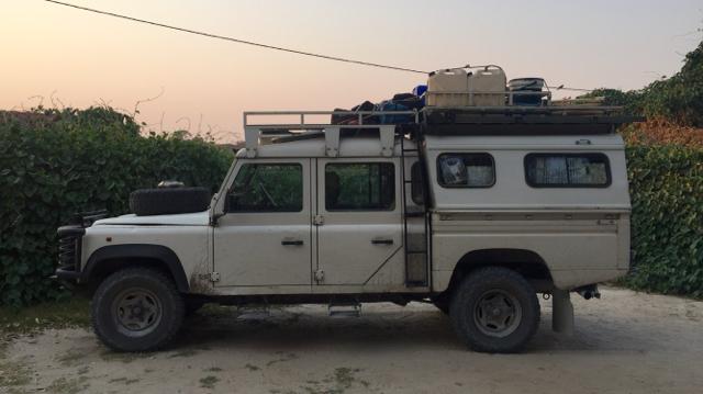 Land Rover Botswana