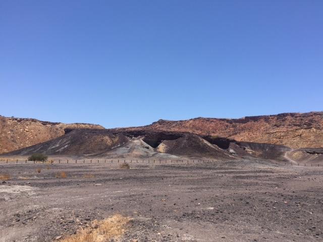 Burnt Mountain Namibia